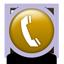 icon telefon gold